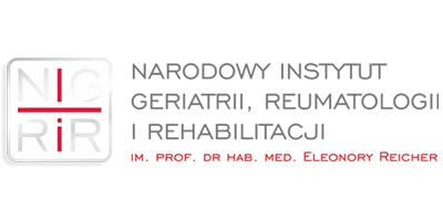 Narodowy Instytut Geriatrii Reumatologii i Rehabilitacji Logo