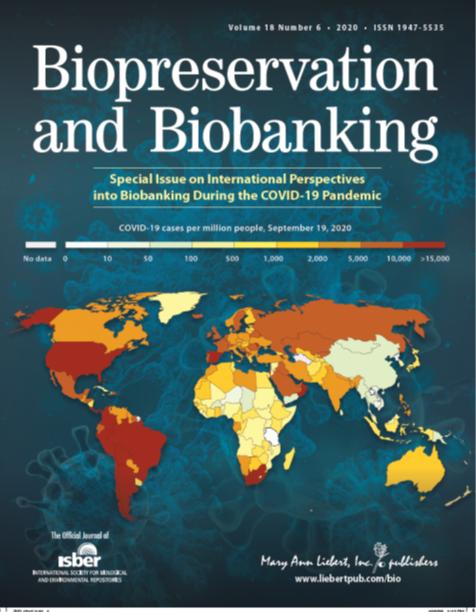 Biopreservation & Biobanking December special issue